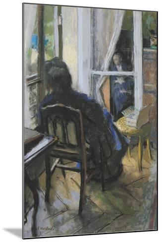 At the Window-Edouard Vuillard-Mounted Giclee Print