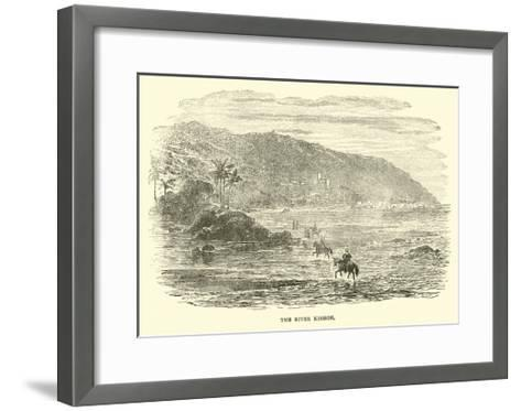 The River Kishon--Framed Art Print