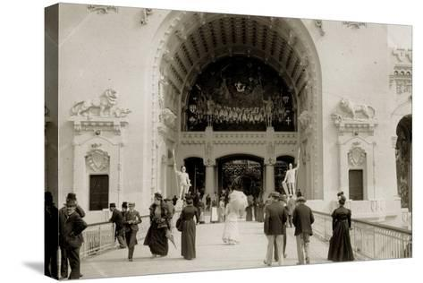 Exposition Universelle, Paris, 1900--Stretched Canvas Print
