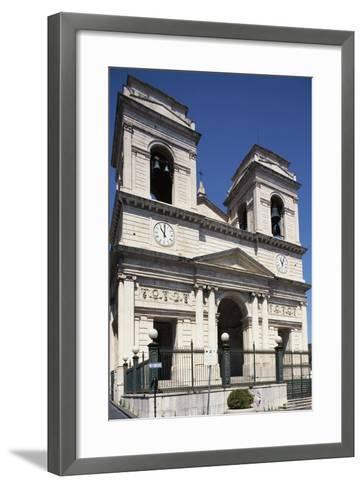 Facade of Church of St Isidore--Framed Art Print