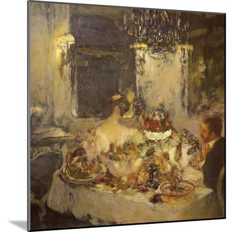 Champagne-Gaston La Touche-Mounted Giclee Print
