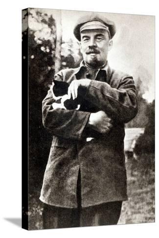 Vladimir Lenin--Stretched Canvas Print