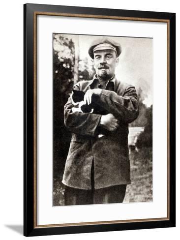 Vladimir Lenin--Framed Art Print