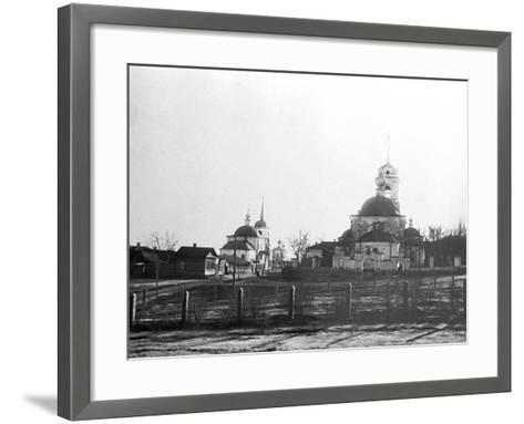 Tsaritsyn before the Revolution, 1910--Framed Art Print
