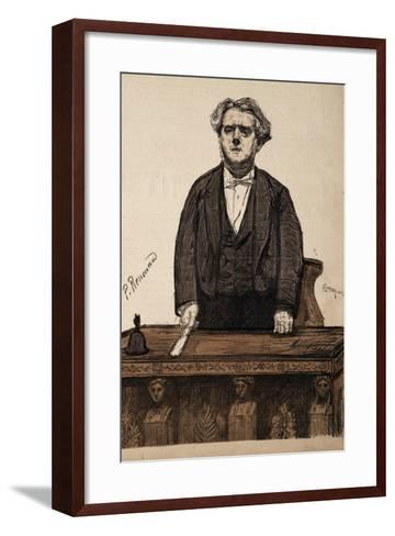 Portrait of Charles Thomas Floquet--Framed Art Print