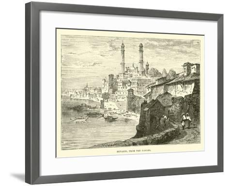Benares, from the Ganges--Framed Art Print