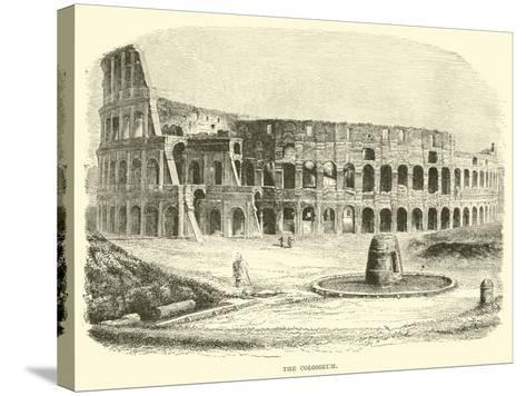 The Colosseum--Stretched Canvas Print