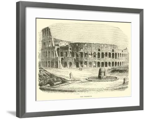 The Colosseum--Framed Art Print