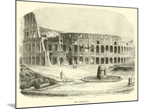 The Colosseum--Mounted Giclee Print