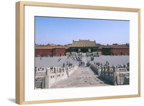 China, Beijing, Forbidden City--Framed Art Print