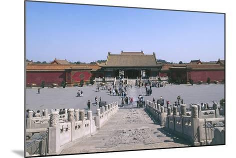 China, Beijing, Forbidden City--Mounted Giclee Print