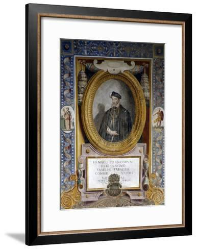 Portrait of Henry II--Framed Art Print