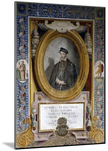 Portrait of Henry II--Mounted Giclee Print