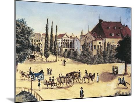 Germany, Leipzig, Konzertsaal Des Gewandhauses--Mounted Giclee Print