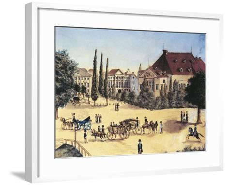 Germany, Leipzig, Konzertsaal Des Gewandhauses--Framed Art Print