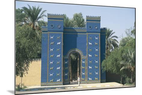 Reconstruction of the Ishtar Gate--Mounted Photographic Print