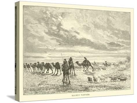 Kalmuc Tartars--Stretched Canvas Print