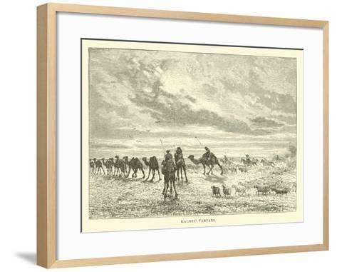 Kalmuc Tartars--Framed Art Print