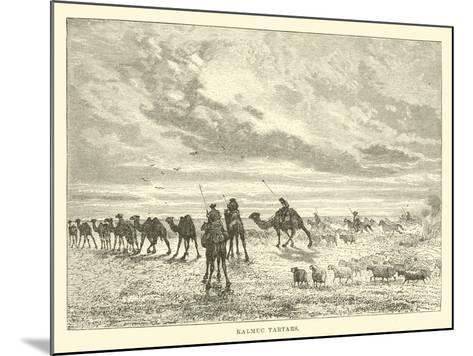Kalmuc Tartars--Mounted Giclee Print