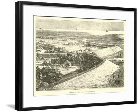 Dykes on the Coast of Holland--Framed Art Print
