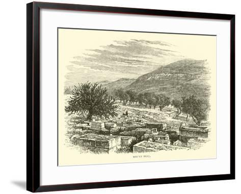 Mount Ebal--Framed Art Print