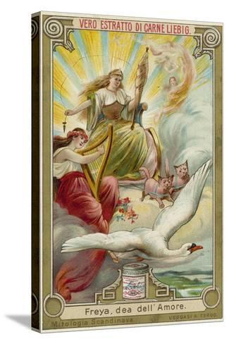 Freyja, Goddess of Love--Stretched Canvas Print