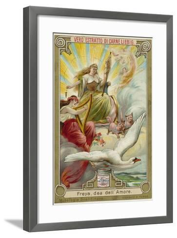 Freyja, Goddess of Love--Framed Art Print