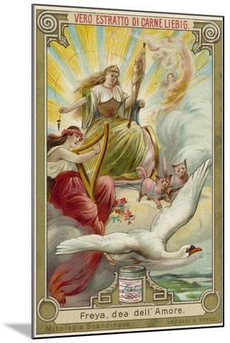 Freyja, Goddess of Love--Mounted Giclee Print