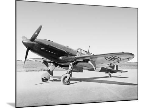 Aeroplane--Mounted Photographic Print