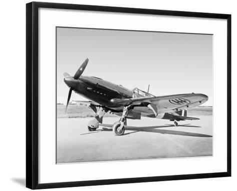 Aeroplane--Framed Art Print