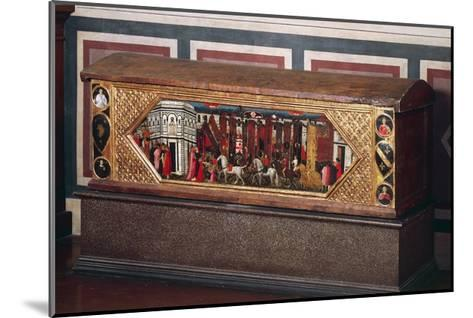 Tuscan Wedding Chest, Decorated with Pastiglia--Mounted Giclee Print