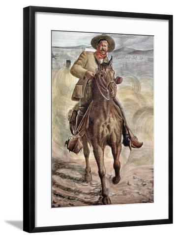 General Francisco Villa--Framed Art Print