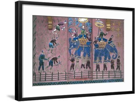 Detail of the Temple--Framed Art Print