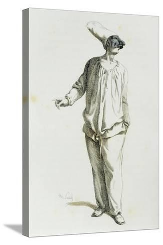 Pulcinella in 1800-Maurice Sand-Stretched Canvas Print