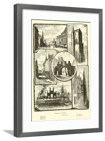 Views in Dundee--Framed Art Print