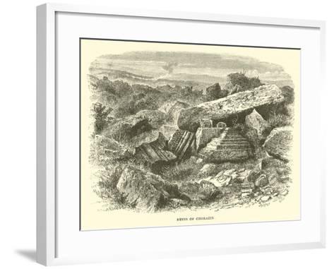 Ruins of Chorazin--Framed Art Print