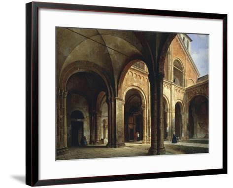 St Ambrose's Hall-Luigi Bisi-Framed Art Print