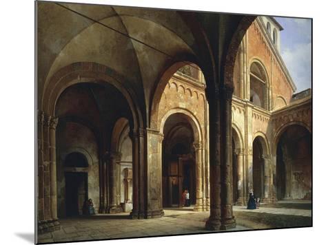 St Ambrose's Hall-Luigi Bisi-Mounted Giclee Print