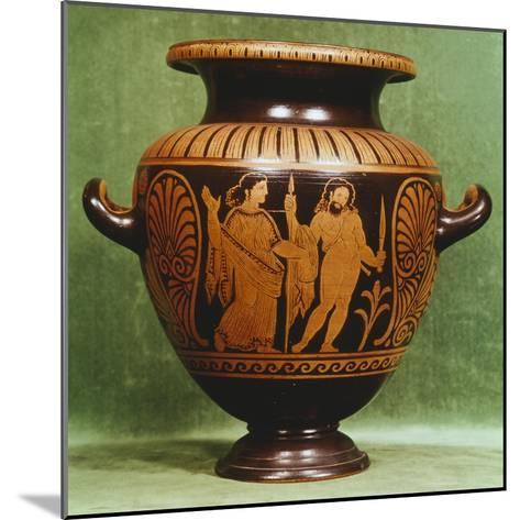 Stamnos, Red-Figure Pottery from Vulci--Mounted Giclee Print