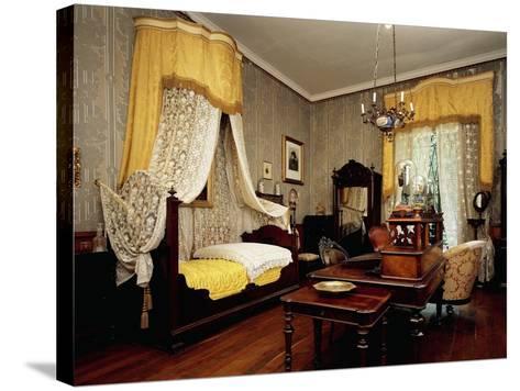 Bedroom of Giuseppe Verdi--Stretched Canvas Print