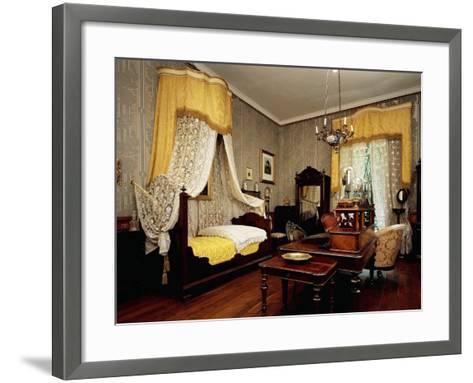Bedroom of Giuseppe Verdi--Framed Art Print