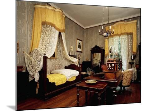 Bedroom of Giuseppe Verdi--Mounted Giclee Print