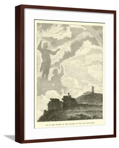 The Spectre of the Brocken in the Harz Mountains--Framed Art Print