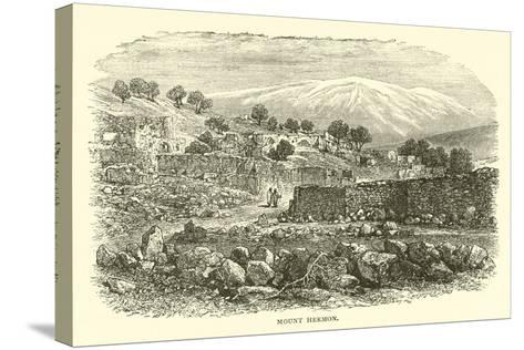 Mount Hermon--Stretched Canvas Print