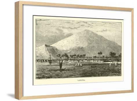 Lahaina--Framed Art Print