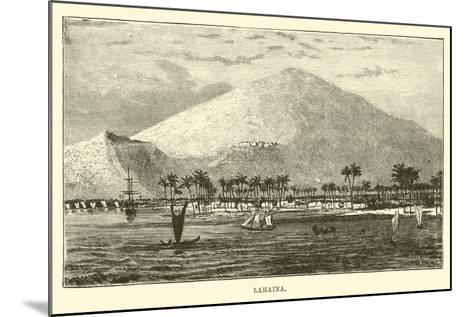 Lahaina--Mounted Giclee Print