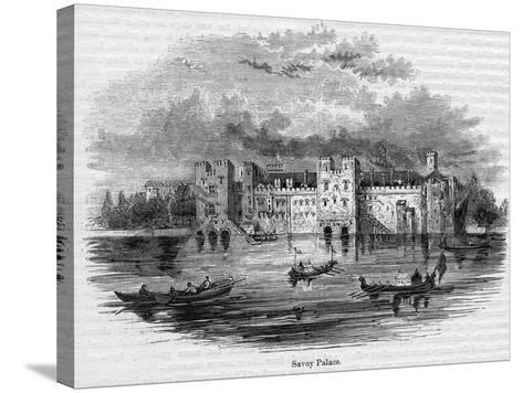 Savoy Palace, 1661--Stretched Canvas Print