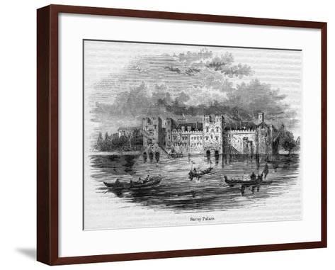 Savoy Palace, 1661--Framed Art Print