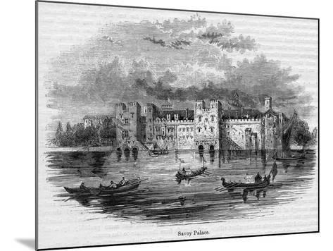 Savoy Palace, 1661--Mounted Giclee Print
