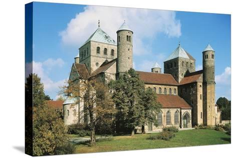 St Michael's Church, Hildesheim--Stretched Canvas Print